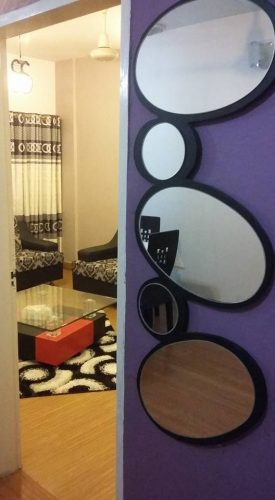 Abstract Style Mirror (Wall hanging) photo review
