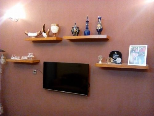 2 Slim Wall Shelves photo review