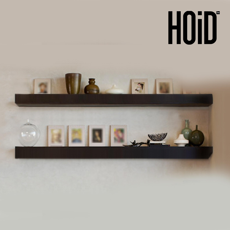 2 Slim Floating Wall Shelves 5 Feet Hoidpk