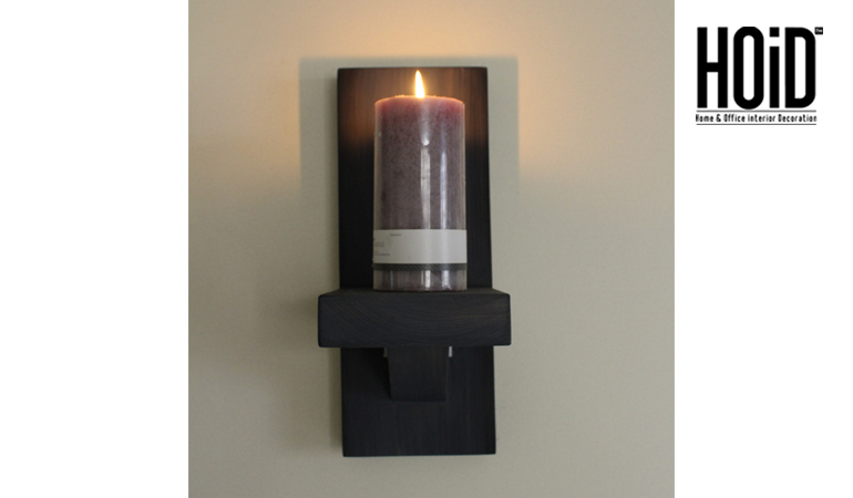 sports shoes 14c87 ee32e 2 Wooden Wall Candle Holder