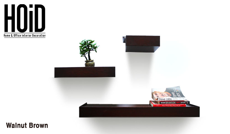 3 Slim Wall Shelves Hoid Pk