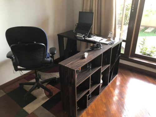 dIar! Study Table with Storage Shelves photo review