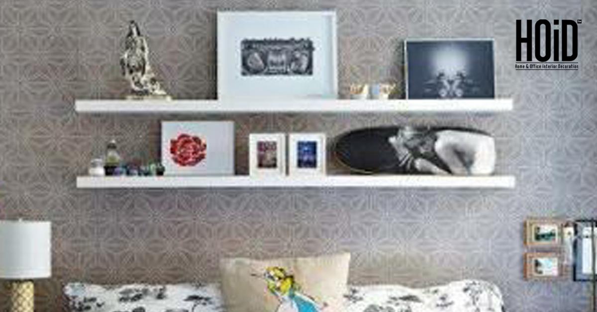 new style f597b 0404c 2 slim Wall Shelves in Deco - 6 Feet
