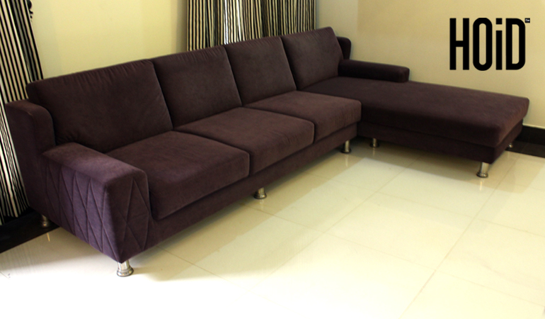 Fiz! 6 Seater L Shaped Sofa Set