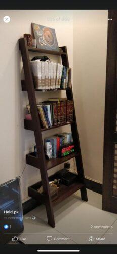 Oaki! Ladder Floor Shelf photo review