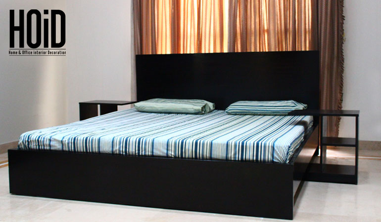 sayuri  king size bed with 2 move