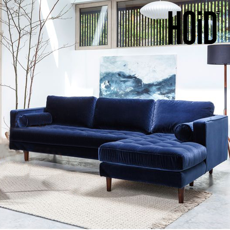 L Shaped Sofa For Small Living Room: Negrita 5 Seater L Shaped Sofa