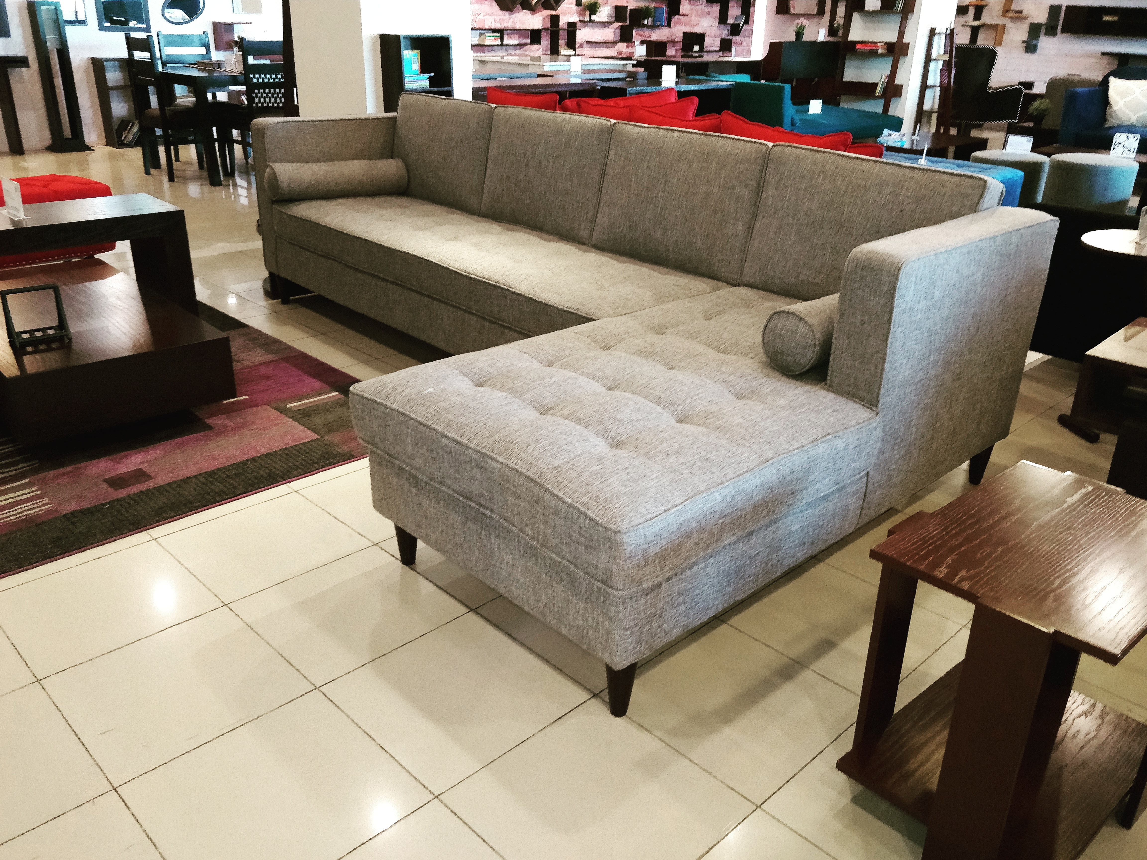 Negrita 6 Seater L Shaped Sofa